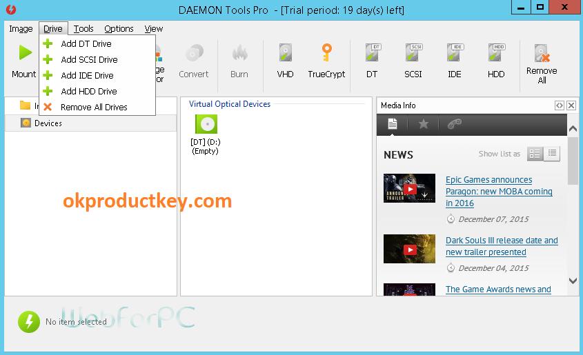 DAEMON Tools Lite 10.12 Crack + Serial Number Download Updated
