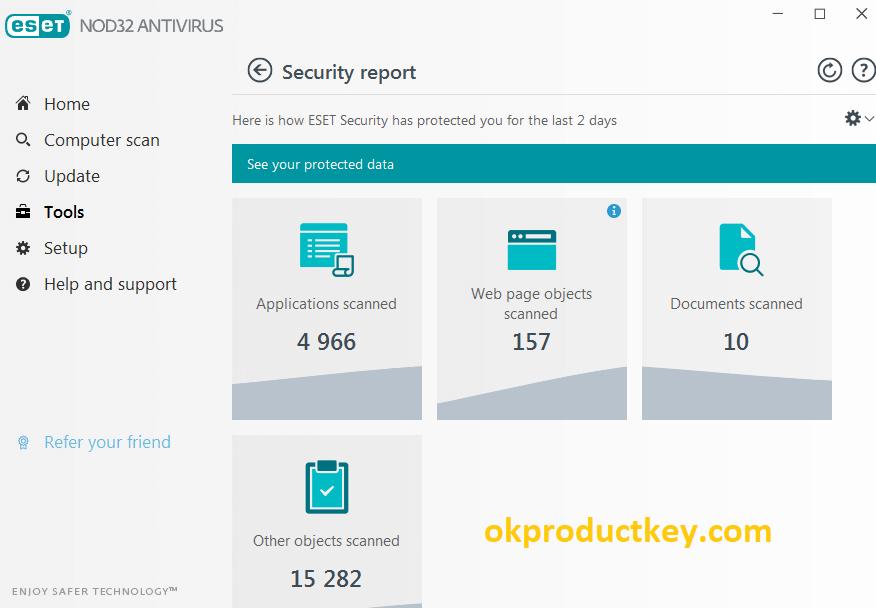 ESET NOD32 Antivirus 13.0.22.0 Crack + Activation Key Full Download 2020