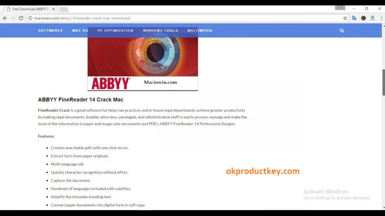 abbyy finereader 10 serial number activation code