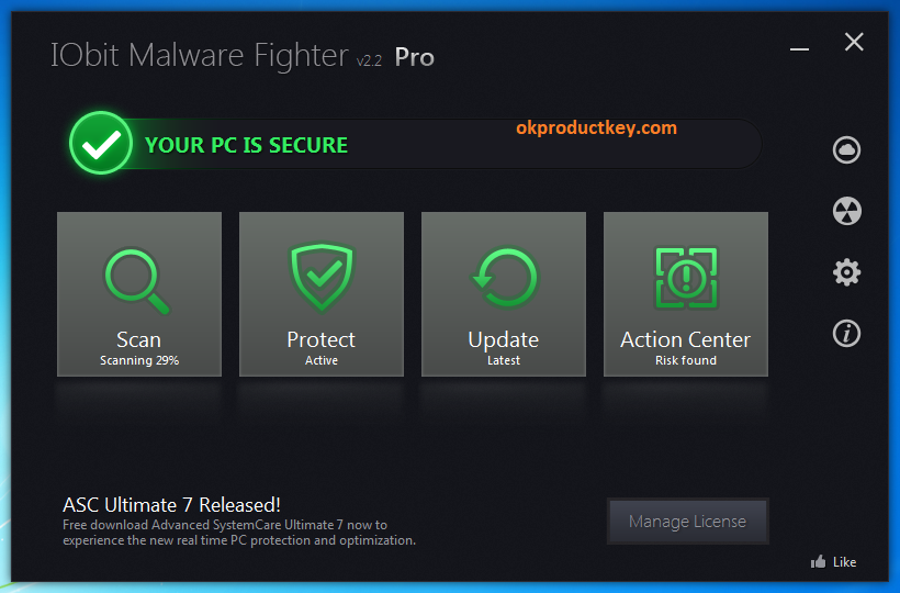IObit Malware Fighter Pro 8 Crack + Serial Key Full Download 2020