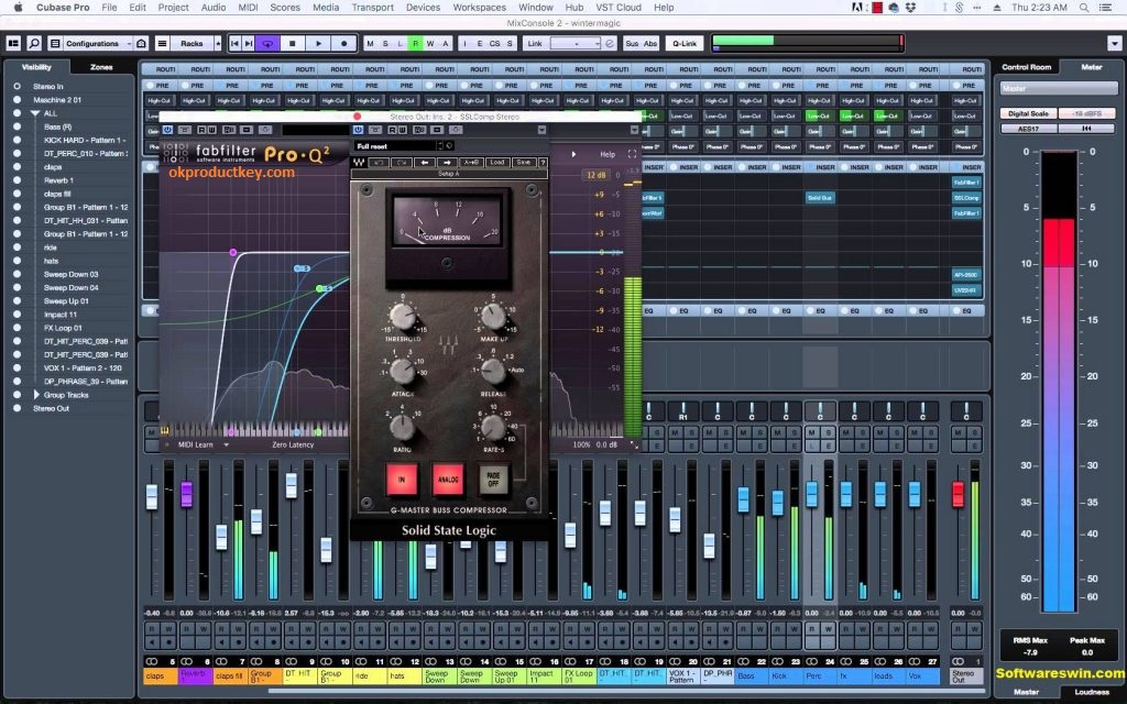 Cubase Pro 9 5 50 Crack + Serial Key 2019 Free Download Full Version