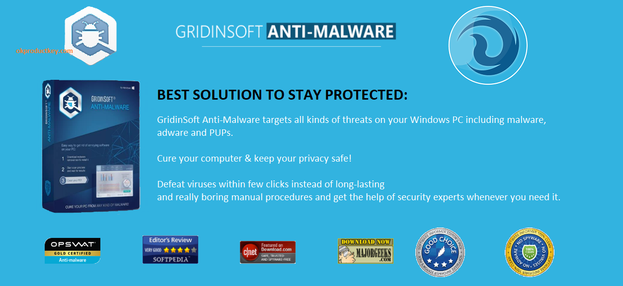 GridinSoft Anti-Malware 4.1.18 Crack With License Key Download 2020