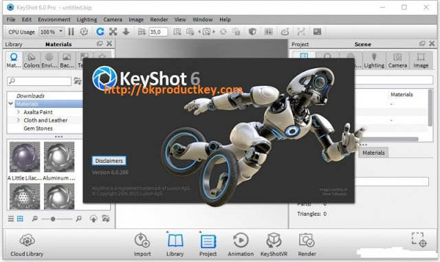 KeyShot 9.0.289 Crack With Key Free Full Download 2020 { Latest }