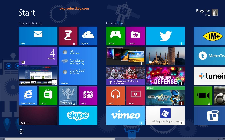 Windows 8 Product Key 2019 + Keygen Free Download { Crack + Key }