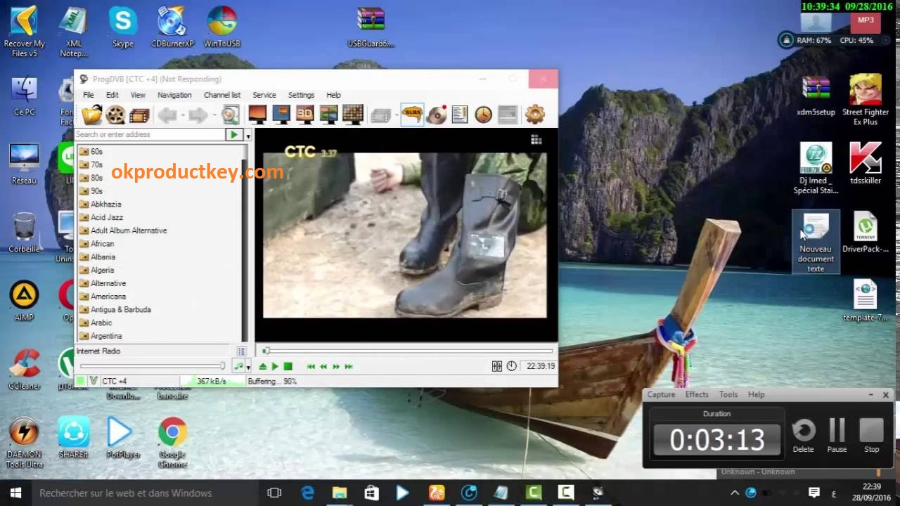ProgDVB 7.31.2 Crack + Activation Key Full Version Free Download 2020
