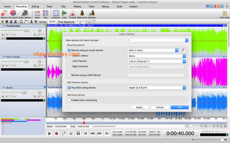 MixPad 5.67 Crack + Registration Code Download [2020]