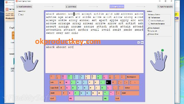 Soni Typing Tutor 6.1.33 / 5.1.33 Crack + Activation Key Full Download 2021