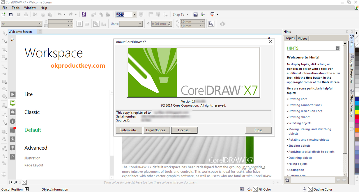 Corel Draw X7 Crack Keygen With Serial Number Free Download
