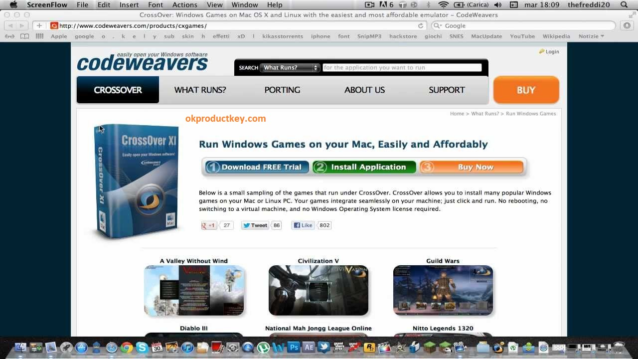 CrossOver Mac Crack 18.5 + Activation Code Full Version Download 2019