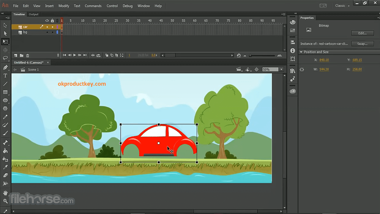 Adobe Animate CC 21.0.1.37179 Crack + Activation Key Free Download