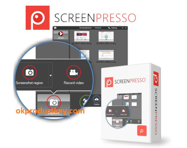 Screenpresso Pro 1.7.16.122 Crack + Activation Key Free Download