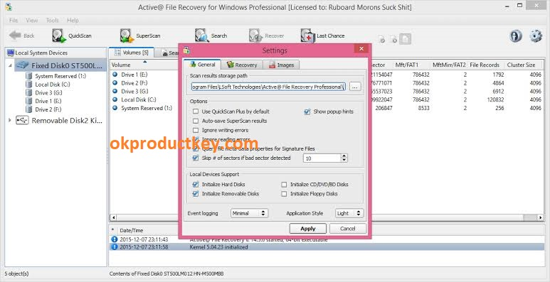 Active File Recovery 19.0.8 Crack + Product Key Free Download