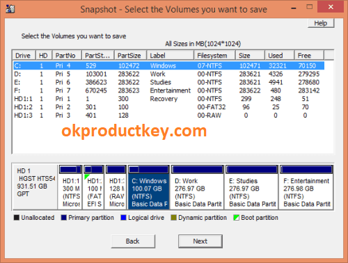 Drive SnapShot 1.48.0.18730 Crack + Keygen Free Download { Latest }